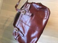 Real leather almost new bag