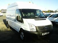 Ford Transit T350 LWB H/R TDCI 100PS VAN DIESEL MANUAL WHITE (2013)