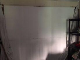 2 White Polystyrene Boards 2400 x 1200 x 100