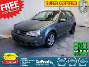 2010 Volkswagen City Golf Base *Warranty*