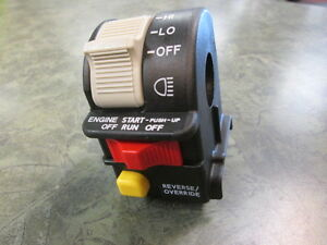 Pure Polaris Headlight On Off Reverse Override Switch Scrambler Sportsman 500