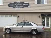 2004 Lincoln LS-Cert/Etested, Sunroof, Leather