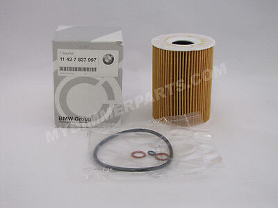 BMW Genuine Oil Filter E90 E92 E93 Chassis 3 Series 2008-2013 M3 11427837997
