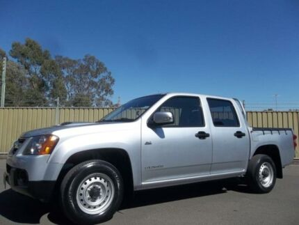 2009 Holden Colorado RC MY09 LX (4x2) Silver 5 Speed Manual Crew Cab P/Up