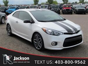 2014 Kia Forte Koup SX Luxury - Nav, Heated Leather Seats