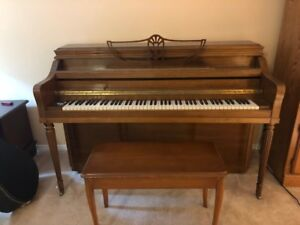 Upright piano to give away