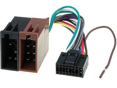 KENWOOD Autoradio KDC KRC KRC-W DPX DPX-MP Radioadapter 16 PIN ISO Stecker Kenwood 16 Pin