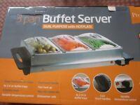 Three pan Buffet set