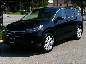 2012 HONDA CR-V EX-L AWD ECO - LEATHER|CAMERA|ROOF|PHONE|1 OWNER
