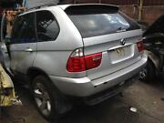 BMW X5 E53 TURBO DIESEL WRECKING COMPLETE CAR FOR PARTS IN SILVER North Parramatta Parramatta Area Preview