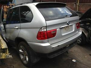 BMW X5 E53 TURBO DIESEL WRECKING COMPLETE CAR FOR PARTS IN SILVER North Parramatta Parramatta Area Preview