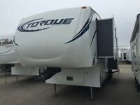 LIGHTLY USED!  2013 TORQUE 321 TOY HAULER