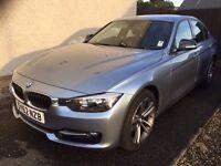 BMW 318d Sport Saloon 2.0l 2012 Liquid Blue Metallic