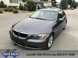 2007 BMW 328i LOW KM! AMAZING DEAL!