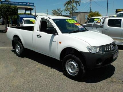 2009 Mitsubishi Triton ML MY09 GL White 5 Speed Manual Cab Chassis Coopers Plains Brisbane South West Preview