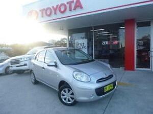2012 Nissan Micra K13 ST Silver 4 Speed Automatic Hatchback Allawah Kogarah Area Preview
