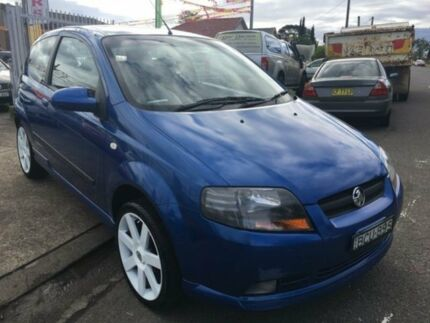 2007 Holden Barina TK MY07 Blue 5 Speed Manual Hatchback Yagoona Bankstown Area Preview