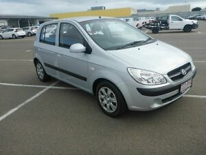 2010 Hyundai Getz TB MY09 S Silver 5 Speed Manual Hatchback Garbutt Townsville City Preview