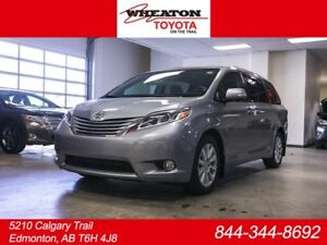2017 Toyota Sienna LIMITED SHOWROOM SPECIAL!!! 3M, CAR STARTER A