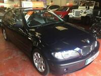 2003 (03) BMW 3 SERIES 1.8 316I SE 4DR Manual