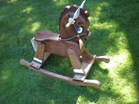 New Hand-Crafted Rocking Horse