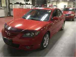 *Safetied* 2005 Mazda Mazda3 GT *Leather*Auto*LowKM*