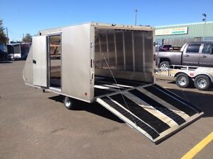 """High Country 101"""" x 12' Crossover Deluxe Trailer"""