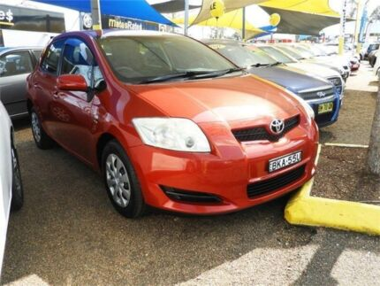2008 Toyota Corolla ZRE152R Ascent Red 4 Speed Automatic Hatchback Minchinbury Blacktown Area Preview