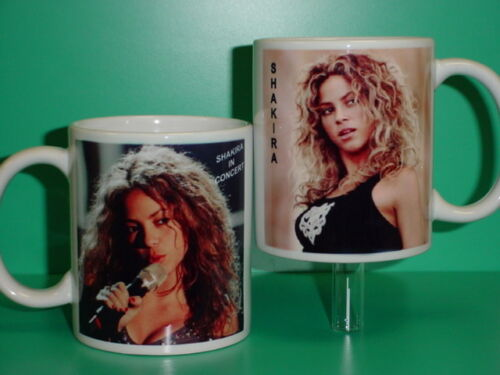 SHAKIRA - with 2 Photos - Designer Collectible GIFT Mug