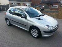 Peugeot 206, 1.1cc, One owner, Only 46,000 miles from new, MOT May 2017