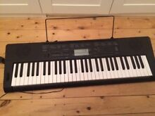 Casio CTK3200 piano keyboard, stand and music stand, hardly used Five Dock Canada Bay Area Preview