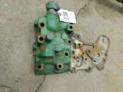 John Deere 4020 Tractor Hydraulic Valve Assembly Part R34973r Tag 236