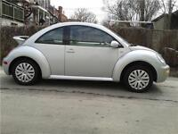 VOLKS  NEW BEETLE  56348 KILLOMETRES SEULEMENT