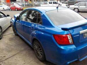 Subaru Impreza WRX 2011 wrecking and recycling Edwardstown Marion Area Preview