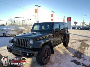 2016 Jeep Wrangler Unlimited 75th Anniversary 4X4- Navigation, R