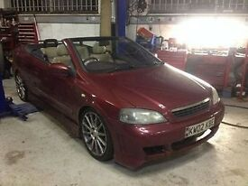 BREAKING VAUXHALL ASTRA mk4 BERTONE 2.0L TURBO PETROL, 5 speed manual, sport, convertible.