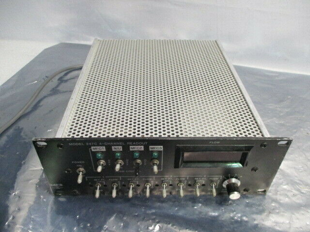 MKS 247C 4-Channel Readout, Power Supply, 100941