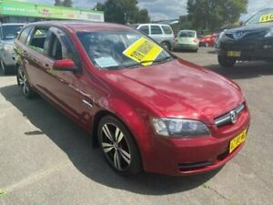 2009 Holden Commodore VE MY10 Omega Sportwagon Red 6 Speed Sports Automatic Wagon Lidcombe Auburn Area Preview