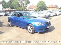 2005 (05 Reg) Mazda 3 1.6 TS 5DR Hatchback BLUE + LOW MILES
