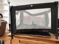 Red Kite Sleeptight Travel Cot (Black)