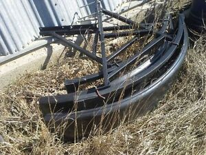 Sprayer fenders, 18.4x34 clamp on duals