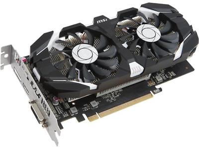 MSI GeForce GTX 1050 DirectX 12 GTX 1050 2GT OC 2GB 128-Bit GDDR5 PCI Express 3.