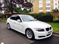 bmw 3 series 3.0 330d se automatic ..stunning white ..hpi clear