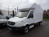 2013 MERCEDES-BENZ SPRINTER 2.1TD 313 CDI LWB 13FT 6 LUTON WITH TAILLIFT