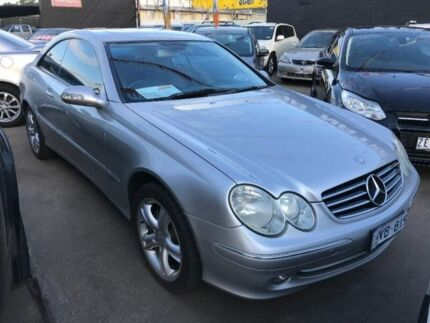 2004 Mercedes-Benz CLK240 C209 Avantgarde Silver 5 Speed Automatic Coupe Maidstone Maribyrnong Area Preview