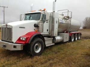 Potable water   T800 Kenworth   Water Truck   Stainless steel ta