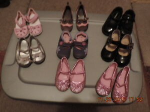 Toddler & Young Girl's Dressy Shoes Sizes 3, 4, 5 & 8