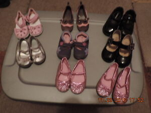 Toddler & Young Girl's Dressy Shoes Sizes 3, 5 & 8