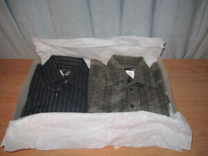 Men's Shirts Long Sleeves, Size = M, QTY = 2
