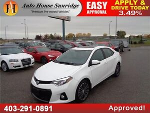 2014 Toyota Corolla Sport Leather Sunroof CAM Everyone Approved
